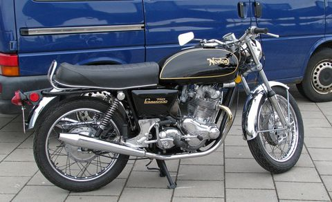1968 1972 Norton Commando