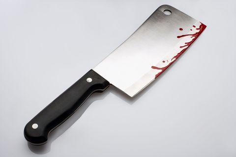 cleaver fake blood
