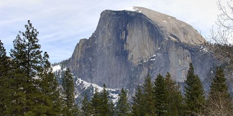 Mountainous landforms, Tree, Mountain, Outcrop, Geology, Wilderness, Bedrock, Batholith, Summit, Formation,