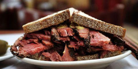 Brown, Food, Pastrami, Tan, Photography, Corned beef, Pork, Dish, Cooking, Beef,
