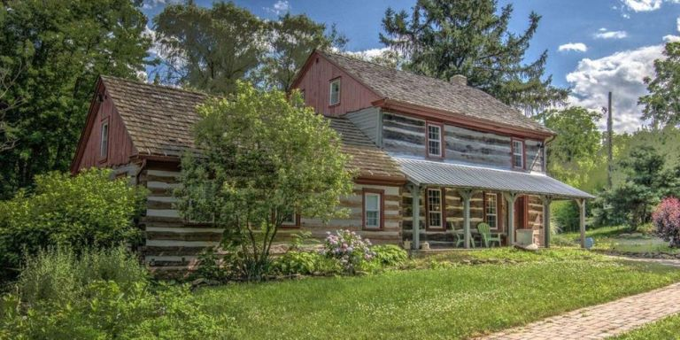 Take a Look Inside This Rustic Dream Log Cabin from 1790