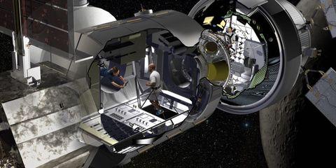 Prototype Deep Space Gateway