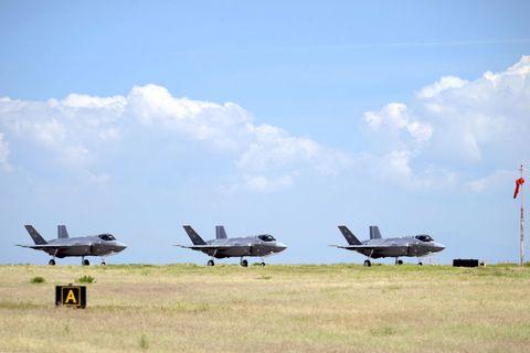 Airplane, Aircraft, Vehicle, Aviation, Air force, Sky, Flight, Military aircraft, Ground attack aircraft, Air show,