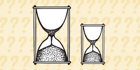 Hourglass, Line, Glass,