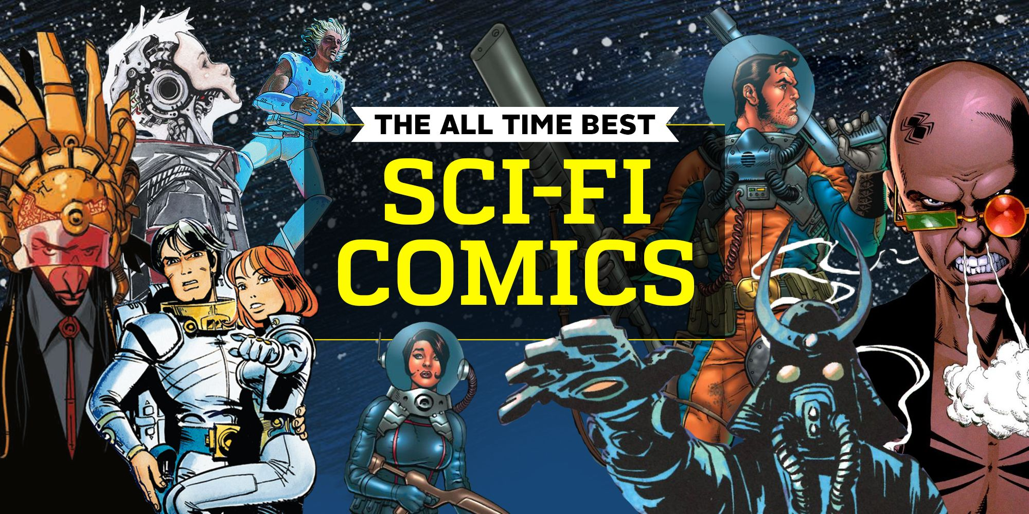 The 30 Best Sci-Fi Comics