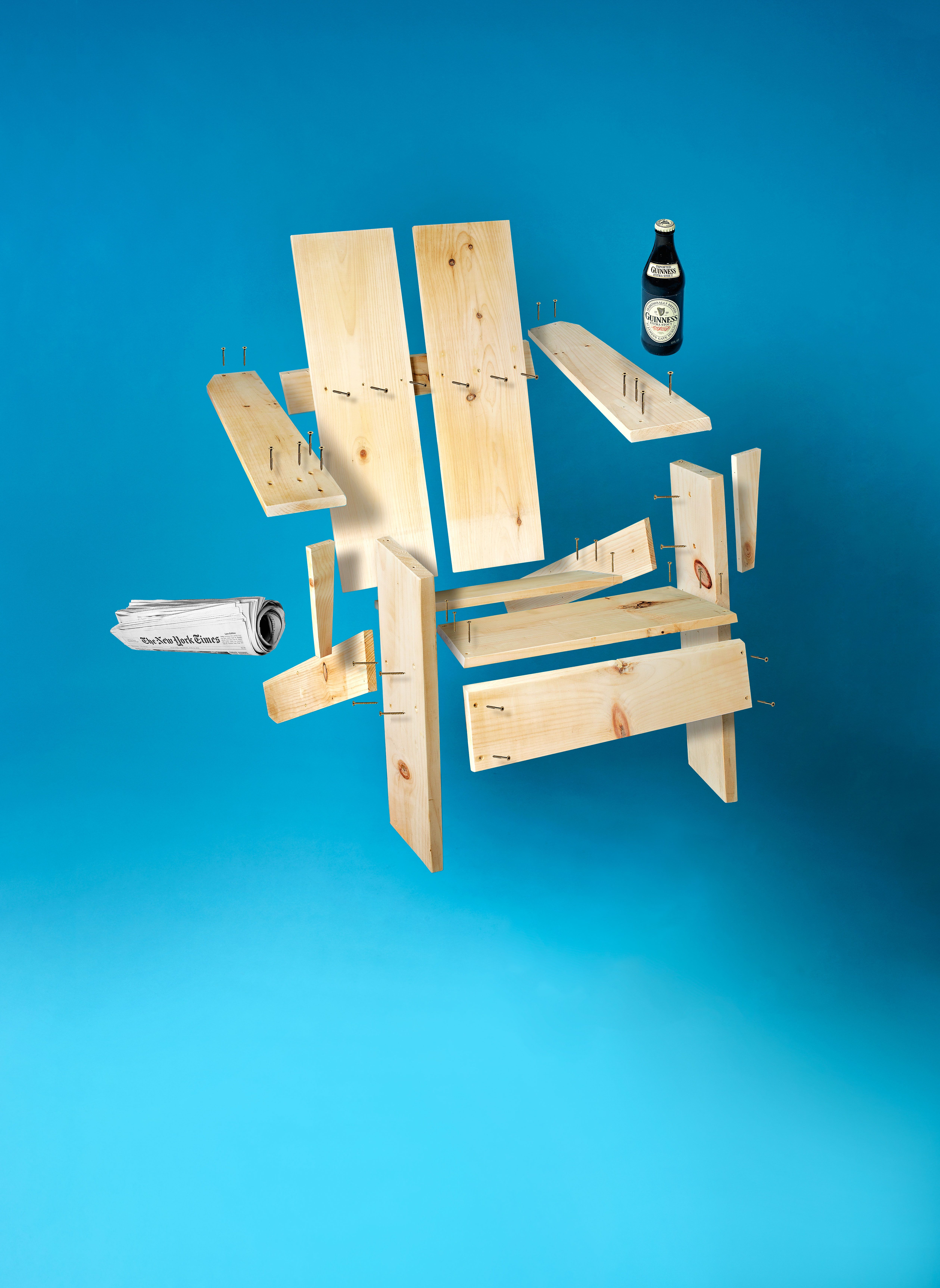 Tremendous Howtomakeanything How To Make A Two Board Backyard Lounger Machost Co Dining Chair Design Ideas Machostcouk
