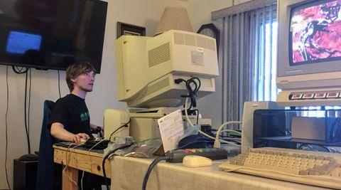 Tecnología, dispositivo electrónico, estudio, estudio de grabación, grabación, instrumento electrónico, computadora personal,