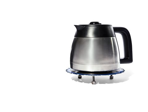 Kettle, Coffee percolator, Small appliance, Home appliance, Electric kettle, Coffeemaker, Drip coffee maker,