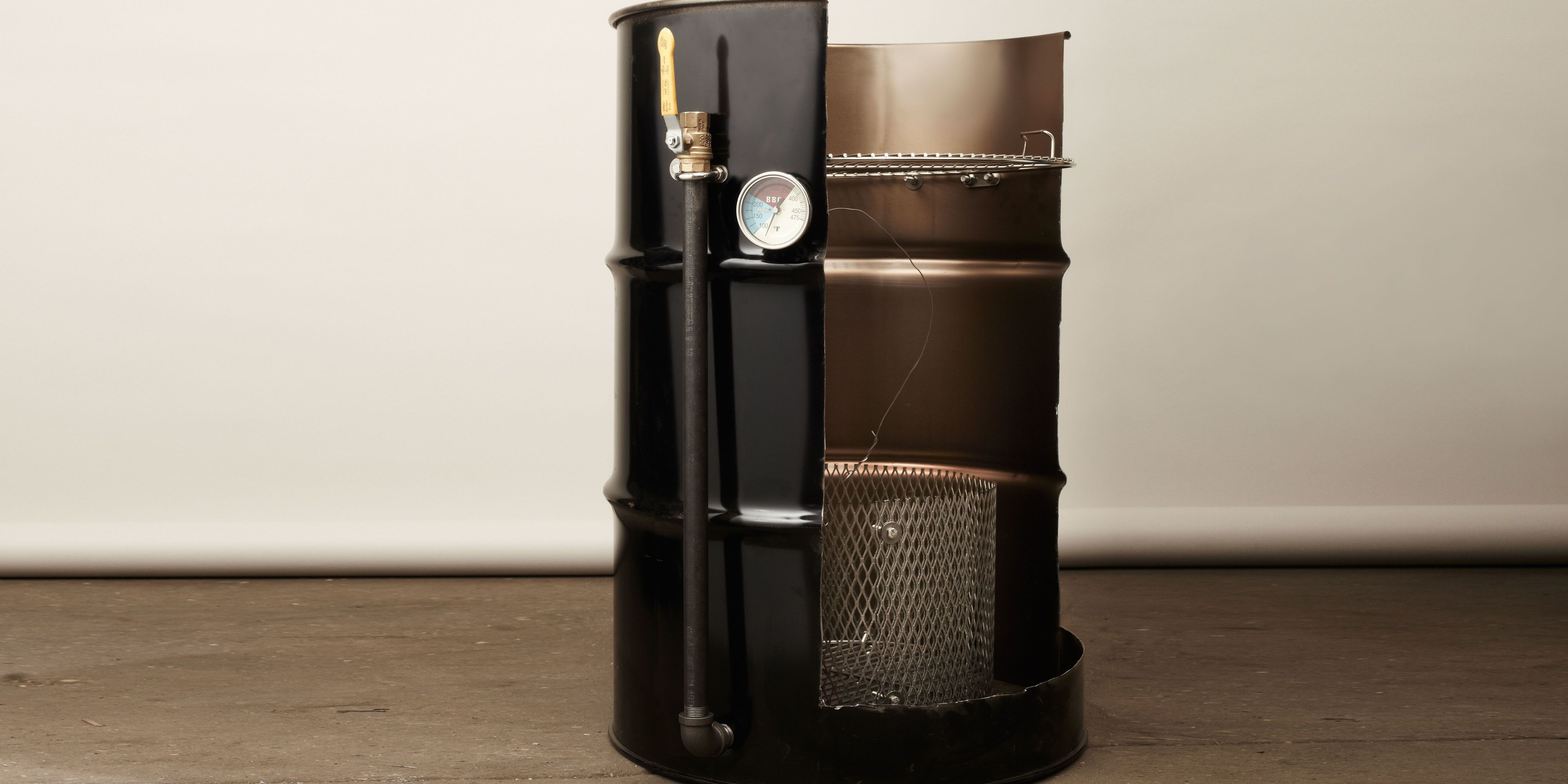 55 Gallon Drum Smoker | Projects Using 55 Gallon Drum