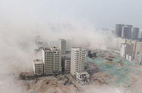 china village destruction
