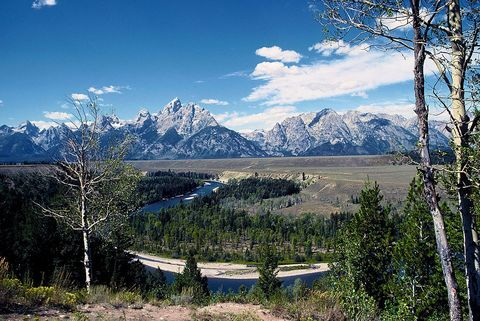 "<p>The eclipse path in our least populous state begins at Grand Teton National Park, south of Yellowstone. Totality will be visible throughout the park, but the closer you are to <a href=""http://www.jacksonholetraveler.com/article/solar-eclipse-jackson-hole/"">Jackson Hole</a>, the better. But a note: this resort area will be one of the busier places on the eclipse path.</p><p><span>The city of Casper is the second largest in the state and will be right in the path of totality. It will be hosting an </span><a href=""http://eclipsecasper.com/"">entire festival</a><span> dedicated to the event and will have&nbsp;music, charity races, Apollo astronauts, and an </span><a href=""https://astrocon2017.astroleague.org/"">astronomy convention</a><span>.</span></p>"