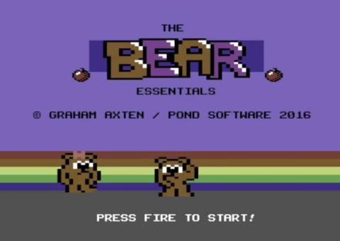 bear essentials commodore 64