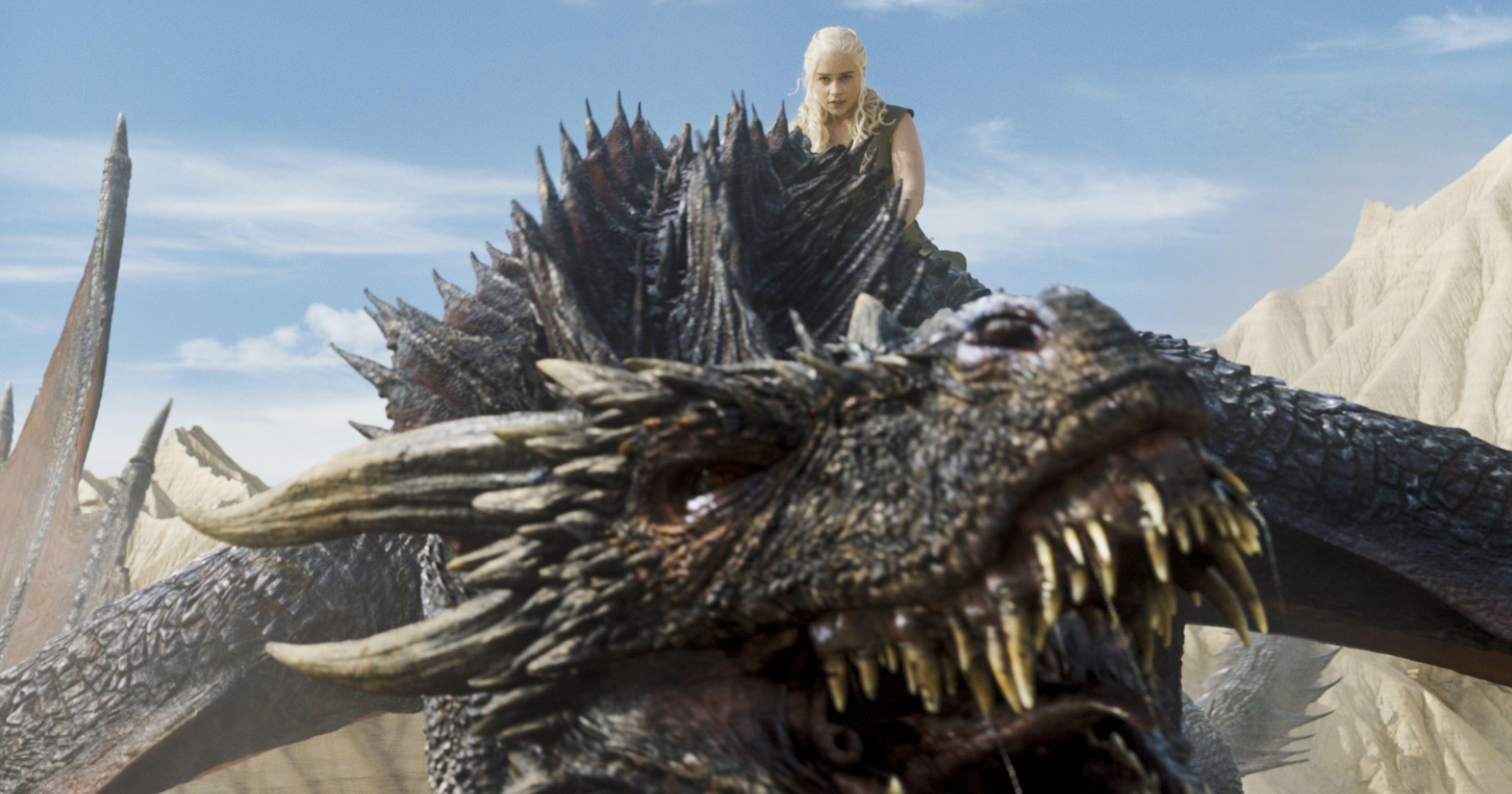 Daenerys with Drogon