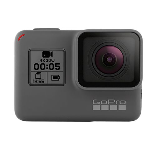 "<p><strong data-redactor-tag=""strong""><em data-redactor-tag=""em"">$399</em></strong> <a href=""https://www.amazon.com/GoPro-CHDHX-501-HERO5-Black/dp/B01M14ATO0?tag=bp_links-20"" target=""_blank"" class=""slide-buy--button"" data-tracking-id=""recirc-text-link"">BUY NOW</a><span class=""redactor-invisible-space"" data-verified=""redactor"" data-redactor-tag=""span"" data-redactor-class=""redactor-invisible-space""></span> </p><p>The HERO5 Black is sleeker, more compact, easier to control, and better connected than its predecessors. It can capture 4K video, bursts of 12 MP images, and go up to 33 feet underwater without a housing. A single press of the shutter button powers the camera on and starts recording, or you can even control it with your voice. This ease of use is what makes the GoPro a standout wearable camera pick. Not to mention, there's a wide variety of accessories and mounts that make it easy for you to wear. </p><p><strong data-redactor-tag=""strong"">Related: </strong><span class=""redactor-invisible-space"" data-verified=""redactor"" data-redactor-tag=""span"" data-redactor-class=""redactor-invisible-space""><a href=""http://www.bestproducts.com/tech/gadgets/g2314/best-gopro-action-camera-accessories/"" data-tracking-id=""recirc-text-link"">The Best GoPro Accessories to Make Your Camera Even Better</a></span><br></p>"