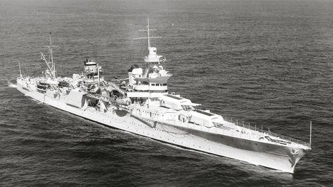 Vehicle, Naval ship, Warship, Ship, Heavy cruiser, Battleship, Boat, Destroyer escort, Destroyer, Cruiser,