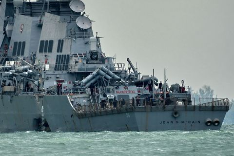 No, the USS McCain Wasn't a Victim of GPS Spoofing