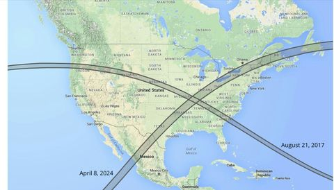Map Of Mexico Cities In Eclipse Path