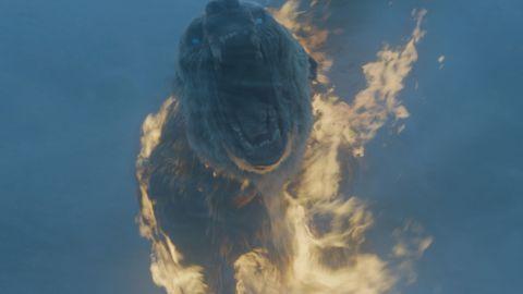 Zombie polar bear on Game of Thrones