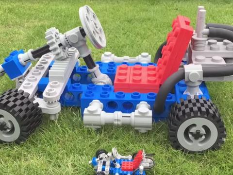 Toy, Radio-controlled car, Vehicle, Radio-controlled toy, Car, Automotive wheel system, Wheel, Lego, Auto part, Toy vehicle,