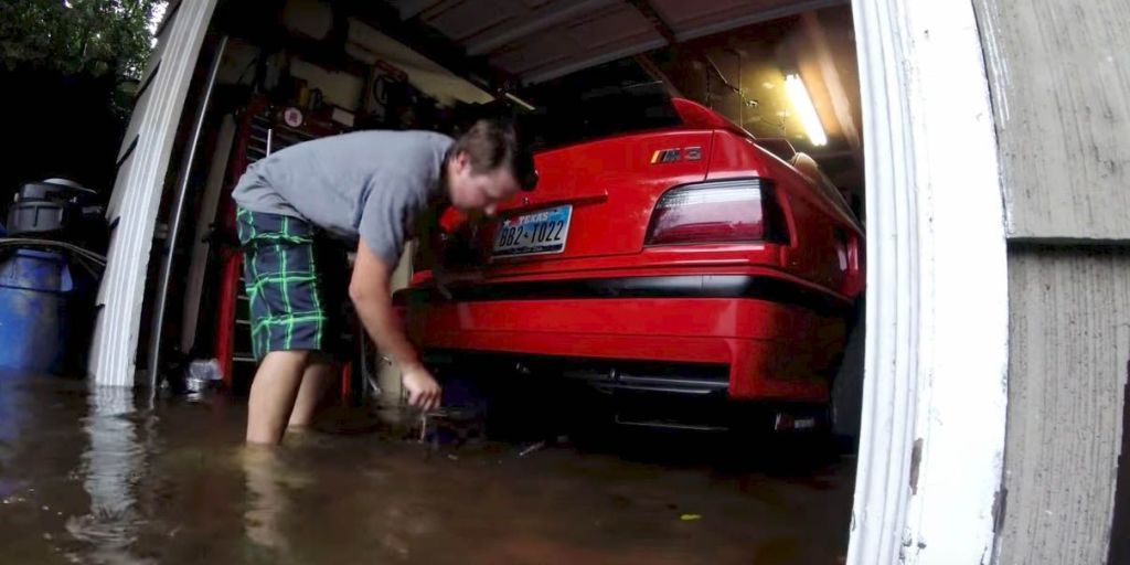 Here's How One Guy Saved His BMW M3s From Hurricane Harvey