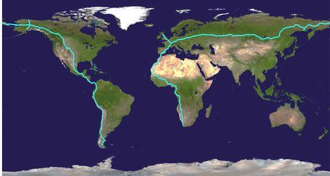 Map, Earth, Water, World, River delta, Estuary, Planet,