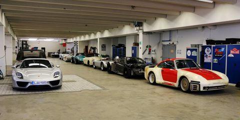 Inside Porsche's Mind-Boggling Hidden Warehouse