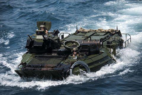Vehicle, Patrol boat, river, Military vehicle, Watercraft, Landing craft, Combat vehicle, Marines, Ship,