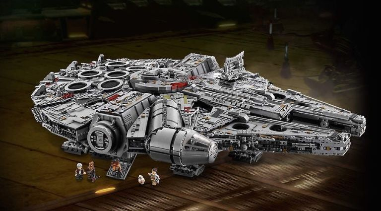 The New Lego Millennium Falcon is the Biggest, Most Expensive Lego Set Ever