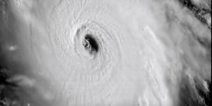 Hurricane Irma satellite footage