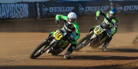 Flat Track Motorcycle Racing Rises From the Dust