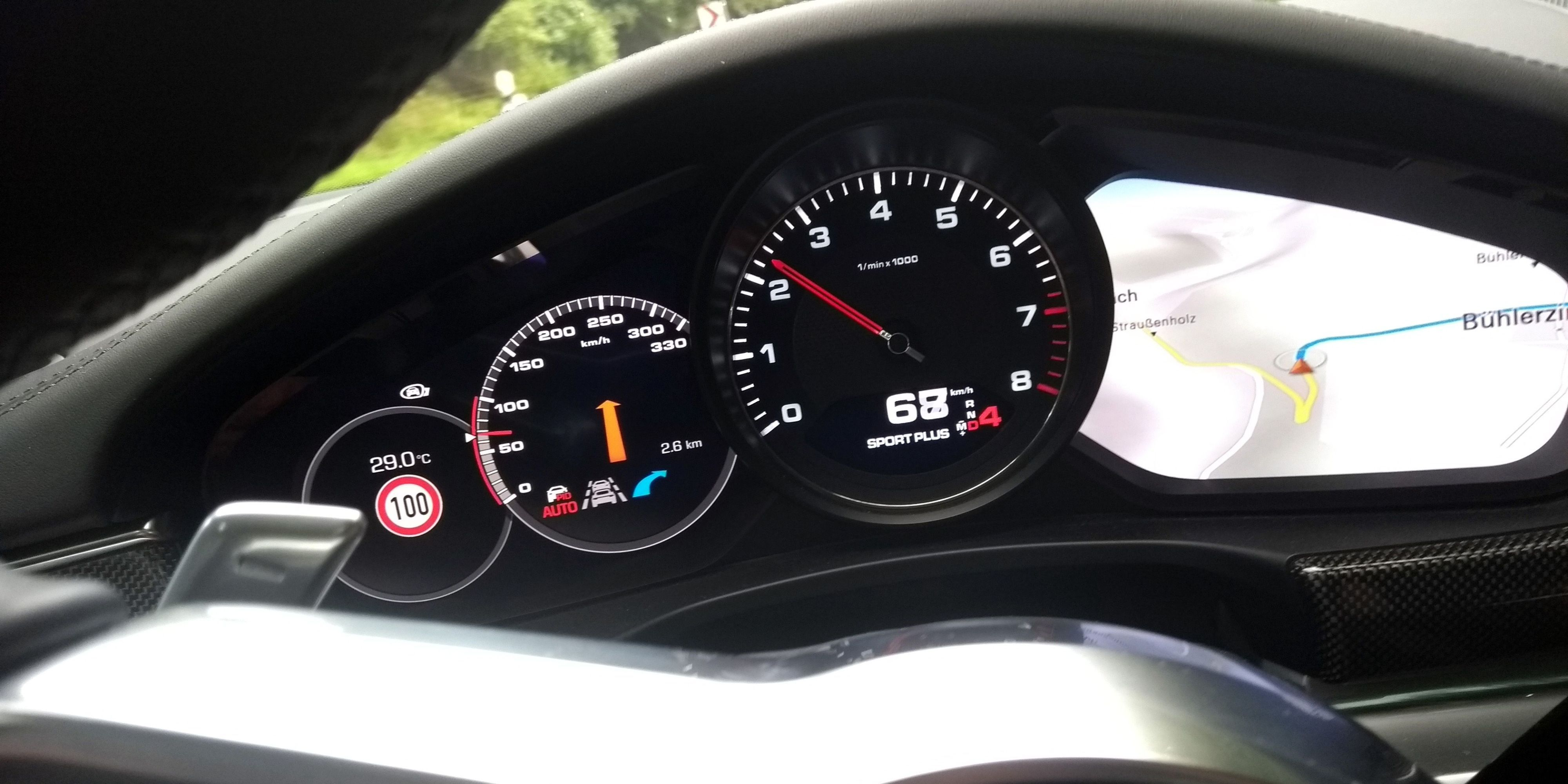Porsche's New Advanced Cruise Control Can Drive You Scarily Quick