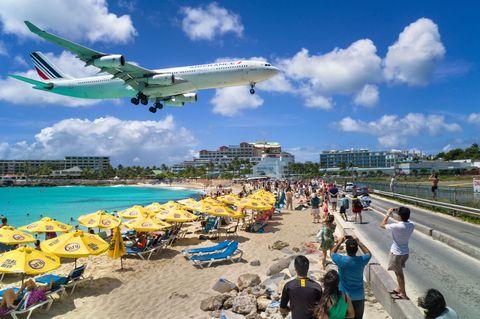 Princess Juliana Airport in St. Maarten