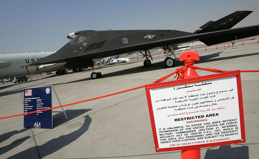 F-117 Stealth Fighter Set for Permanent Retirement