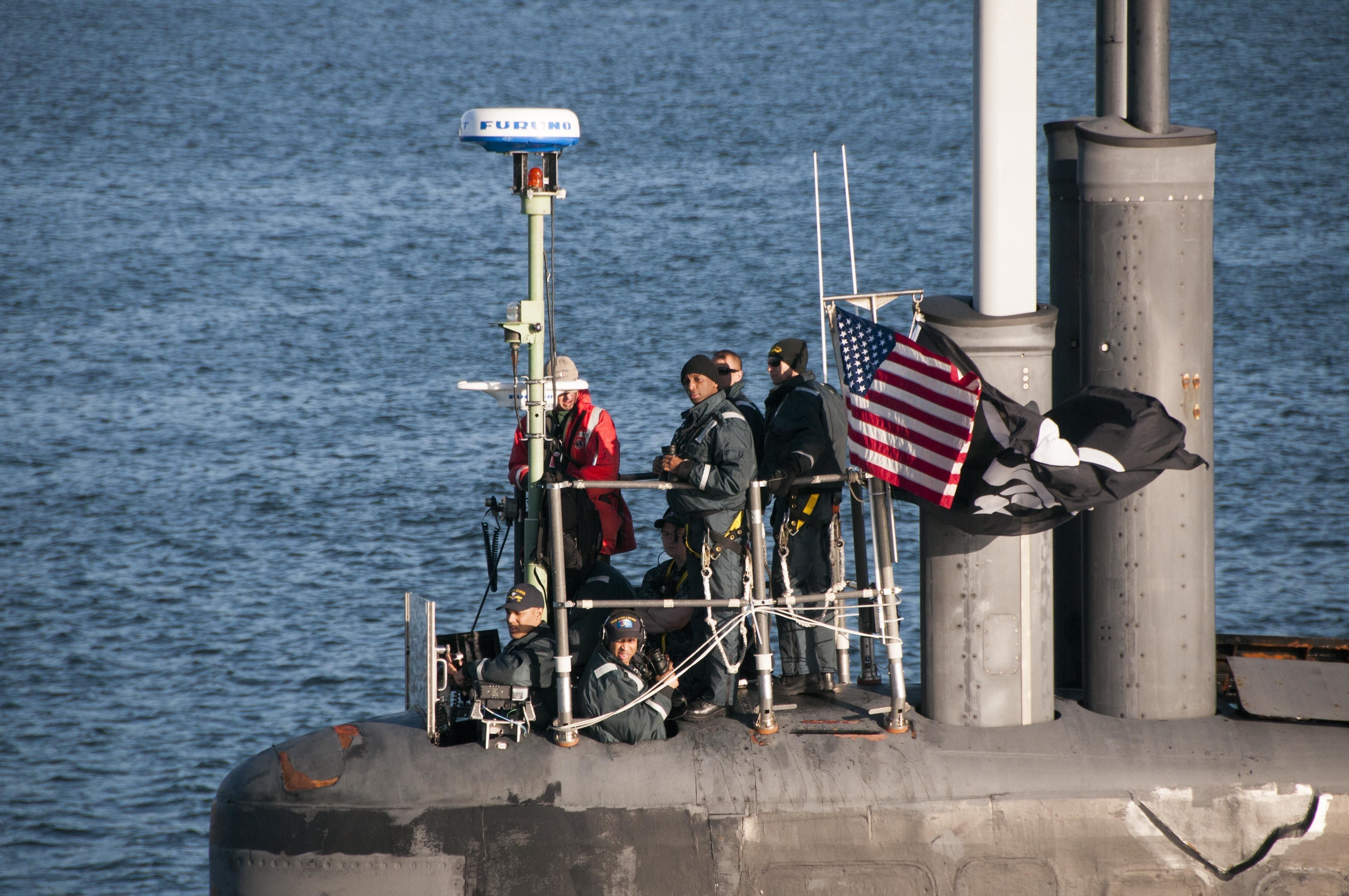 Why a U.S. Navy Spy Submarine Is Flying the Jolly Roger