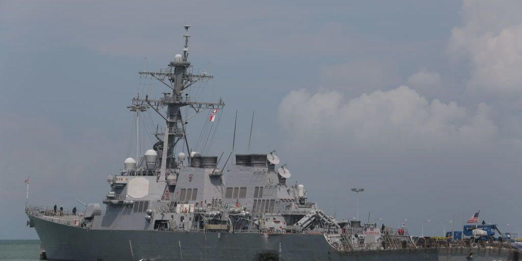 To Avoid Future Collisions US Navy Ships Will Advertise Their
