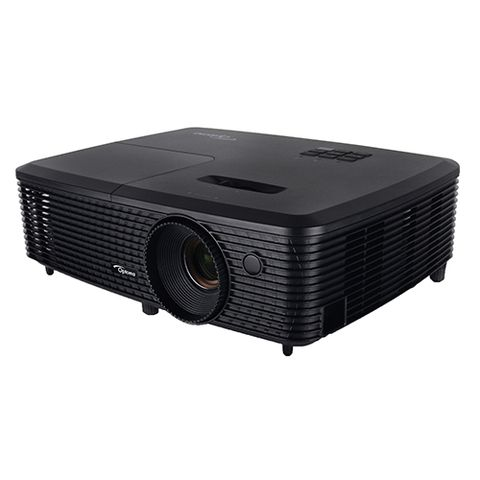 "<p><strong data-redactor-tag=""strong""><em data-redactor-tag=""em"">$289 <a href=""https://www.amazon.com/Optoma-S341-Lumens-Projector-Superior/dp/B01DBXNYZ0?tag=bp_links-20"" target=""_blank"" class=""slide-buy--button"">BUY NOW</a></em></strong> </p><p>The S341 projector by Optoma is an excellent affordable option whose lamp can last up to 10,000 hours. Unsurprisingly, considering its price tag, the device's resolution tops out at WVGA (800 by 600 pixels). However, Optoma makes up for the lower resolution by offering a sweet 3,500 lumens' worth of brightness, coupled with a top-notch contrast ratio.</p>"