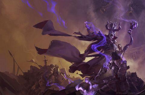 Purple, Violet, Cg artwork, Lavender, Fictional character, Illustration, Plant, Space, Art,