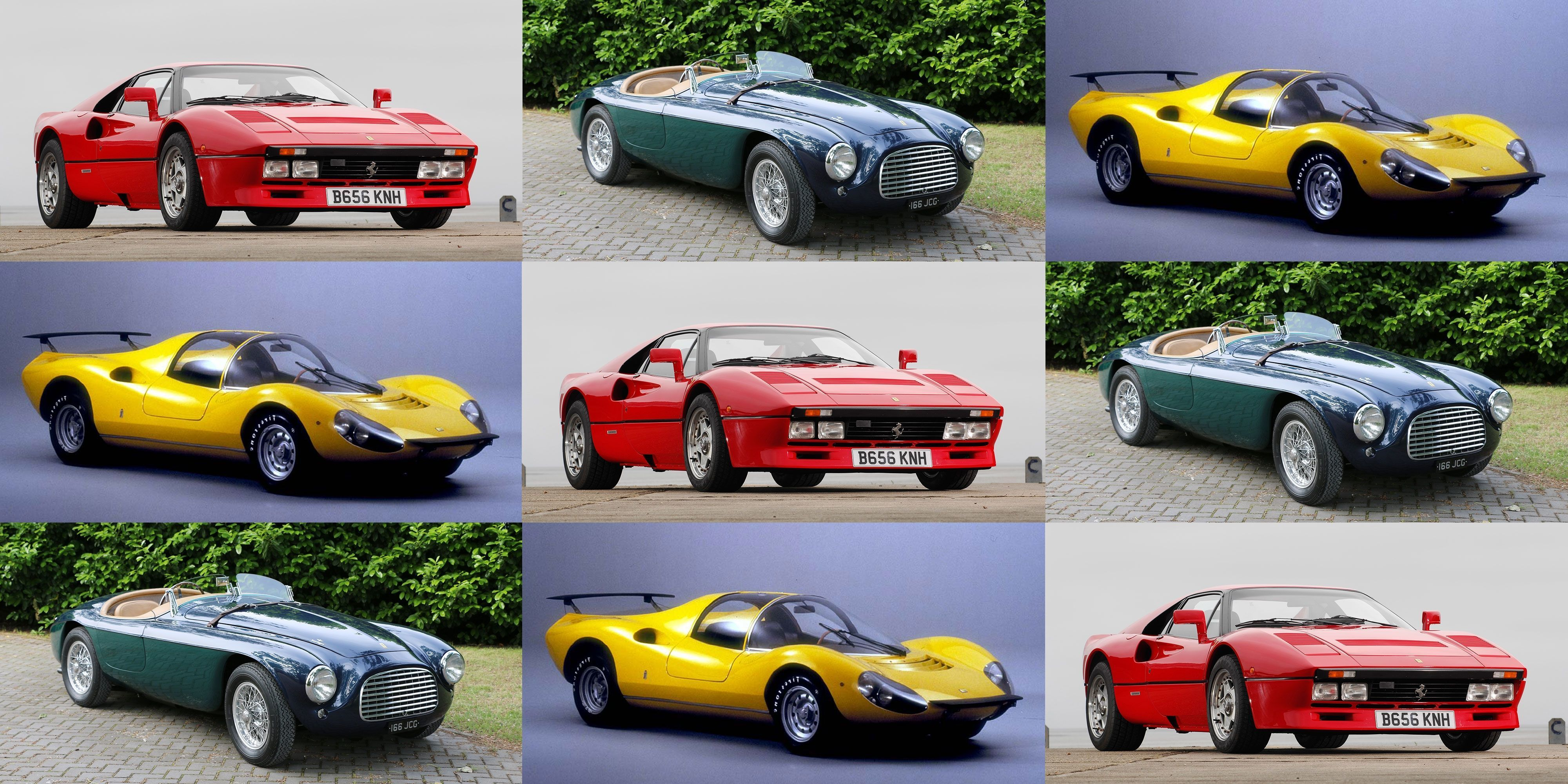 See 70 Years of the Greatest Ferraris Ever Built