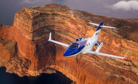 A Flight In Honda's Wild New Jet