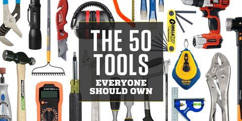 The 50 Tools Everyone Should Own