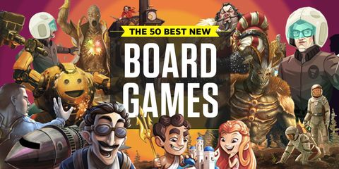 The 50 Best New Board Games