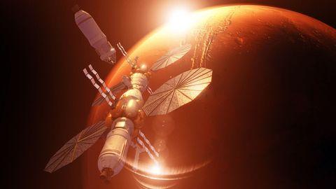 Mars Base Camp