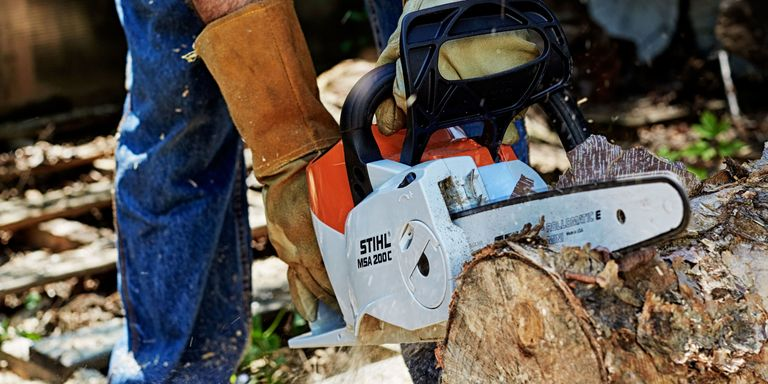 Best electric chainsaws for 2017 battery powered chainsaw reviews although they dont have the power of a gas saw cordless electric chainsaws are lighter quieter and simple to start plus no fumes greentooth Choice Image