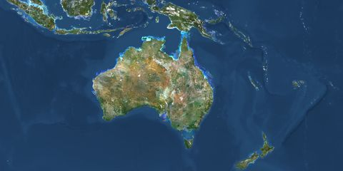 Map Of Australia From Space.Australia Is Establishing A National Space Agency After Years Of
