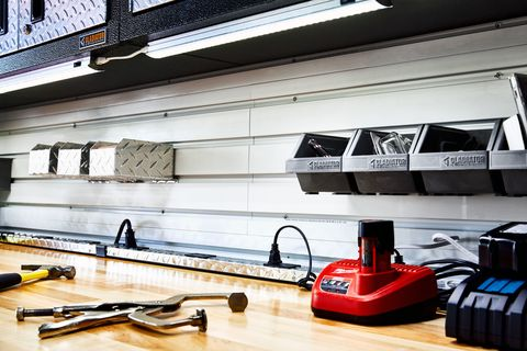 How To Build a Garage Workspace - DIY Garage Reno
