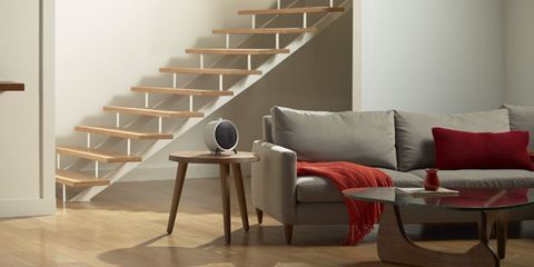 Furniture, Interior design, Room, Floor, Wall, Living room, Lighting, Table, Flooring, Wood,