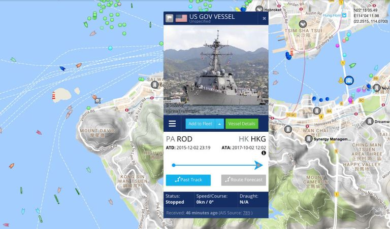 Now That US Navy Ships Must Broadcast Their Position People Of - Us navy fleet locations map