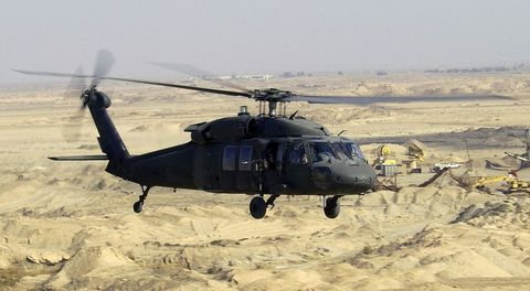 Helicopter, Vehicle, Helicopter rotor, Rotorcraft, Aircraft, Military helicopter, Black hawk, Aviation, Military aircraft, Mode of transport,