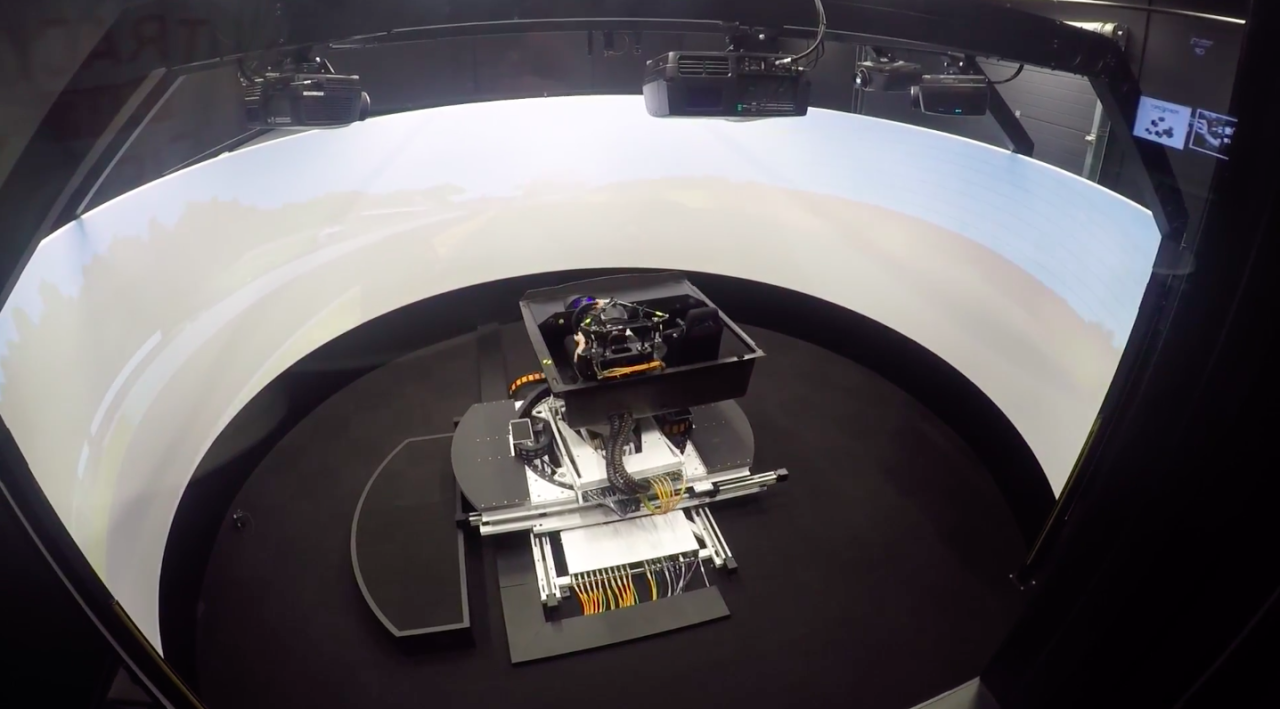 Here's What a $1.3 Million Driving Simulator Looks Like