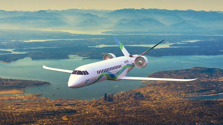 Boeing Backed Electric Plane Could Fly In 2020s